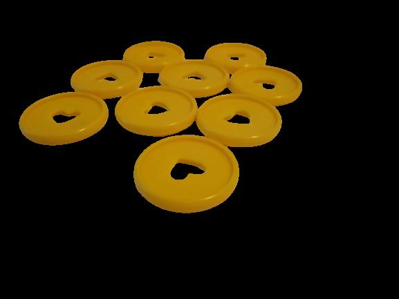 Gele disc