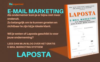 E-mail marketing Laposta